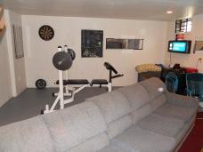 p basement rec room